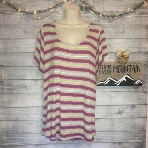 LuLaRoe Classic T Stripe Shirt